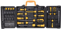 Rolson 60pc Standard Precision Screwdriver Bit Socket Set Repair Tool Kit